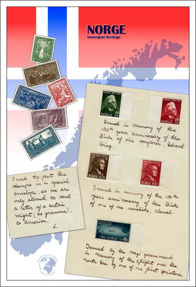 Norway 1940s 12 x 18 share online