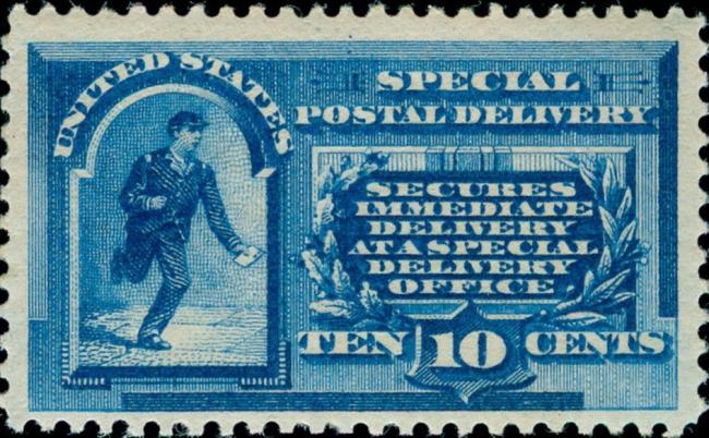 USA, Scott Nr E1 (1885)