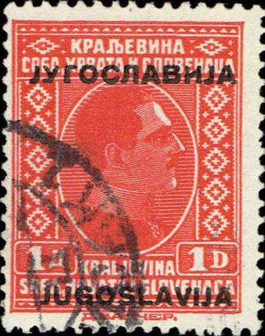 Yugoslavia, Scott Nr 89 (1933)