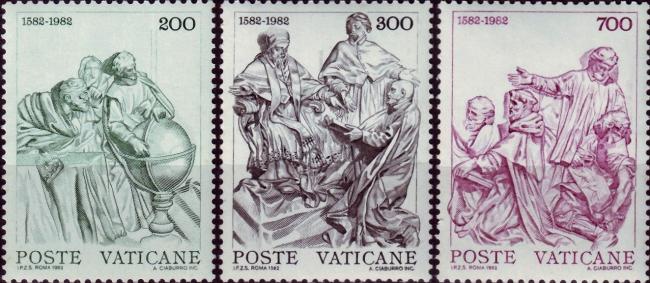Vatican, Scott Nr 715-717 (1982)