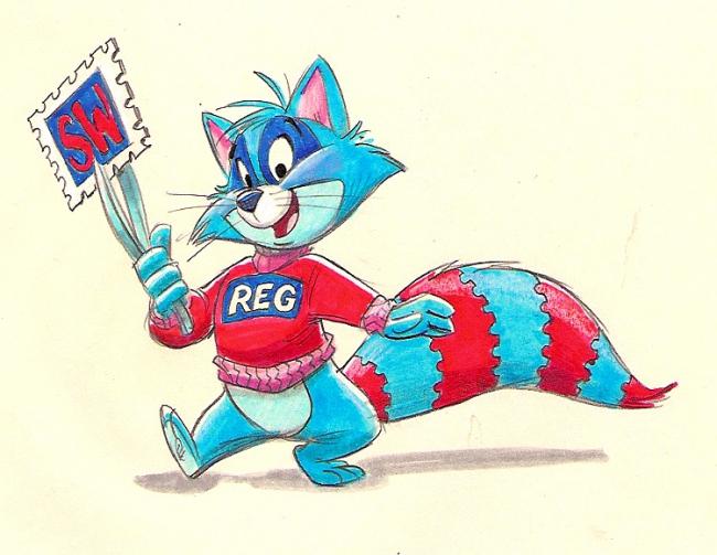 Reggie Raccoon