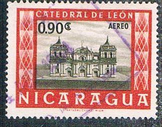 NicaraguaC395UsedLeonCathedral(BP1624)