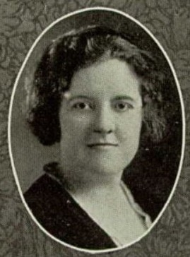 1924 Verna Mann Lowell HS SF CA Senior