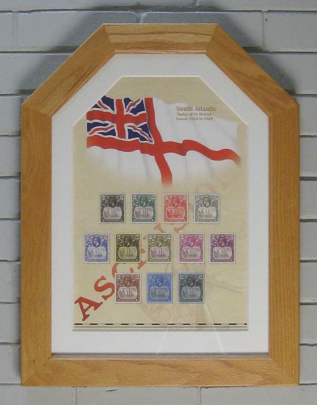 Ascension Island framed print smaller
