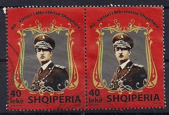 Albania-2008-King-Zog