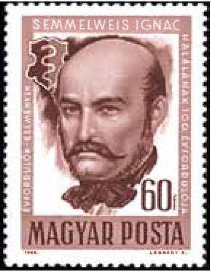 Hungary-1965-Ignaz-Philipp-Semmelweis