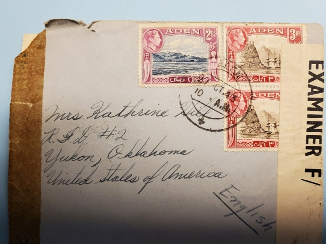 Aden Cover 1943