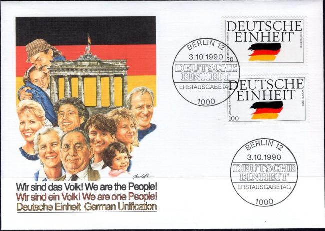 Germany, Scott Nr 1612, 1613 (1990)