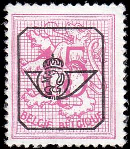 Belgium 408 Overprint