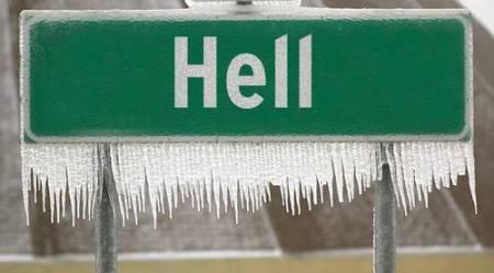 hell freezes